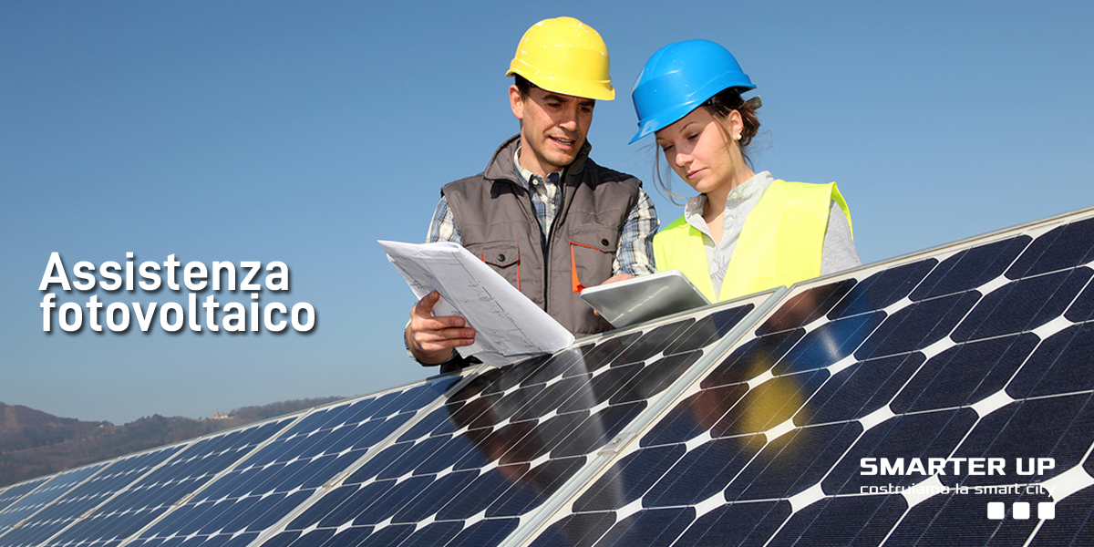 Assistenza Fotovoltaico Smarter Up