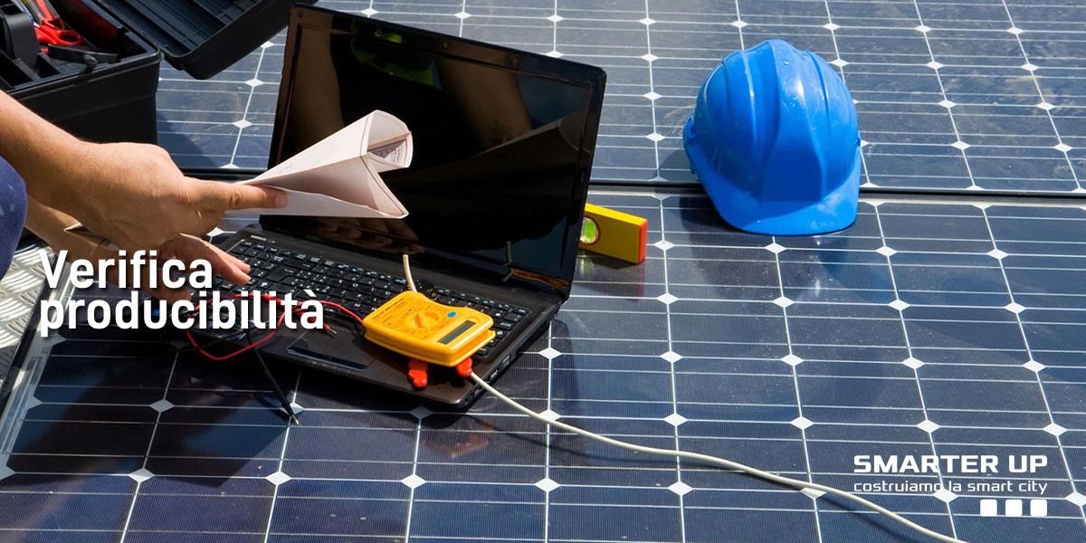 Smarter Up Verifica Producibilità Impianti Fotovoltaici