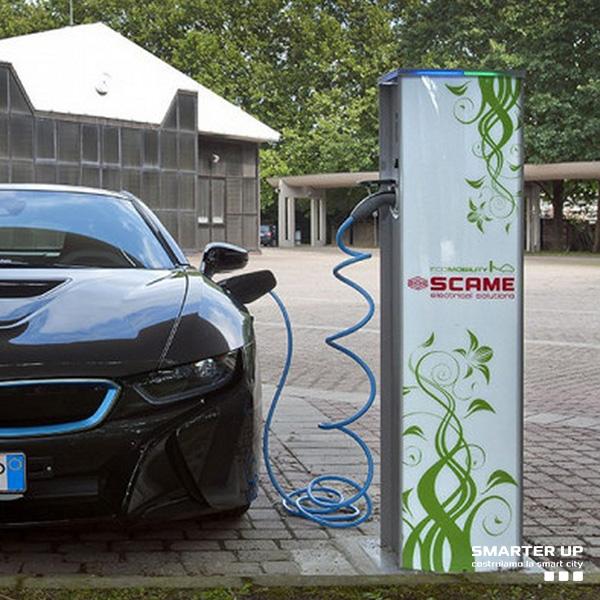 Smarter Up - Stazioni di ricarica per auto elettriche - Scame