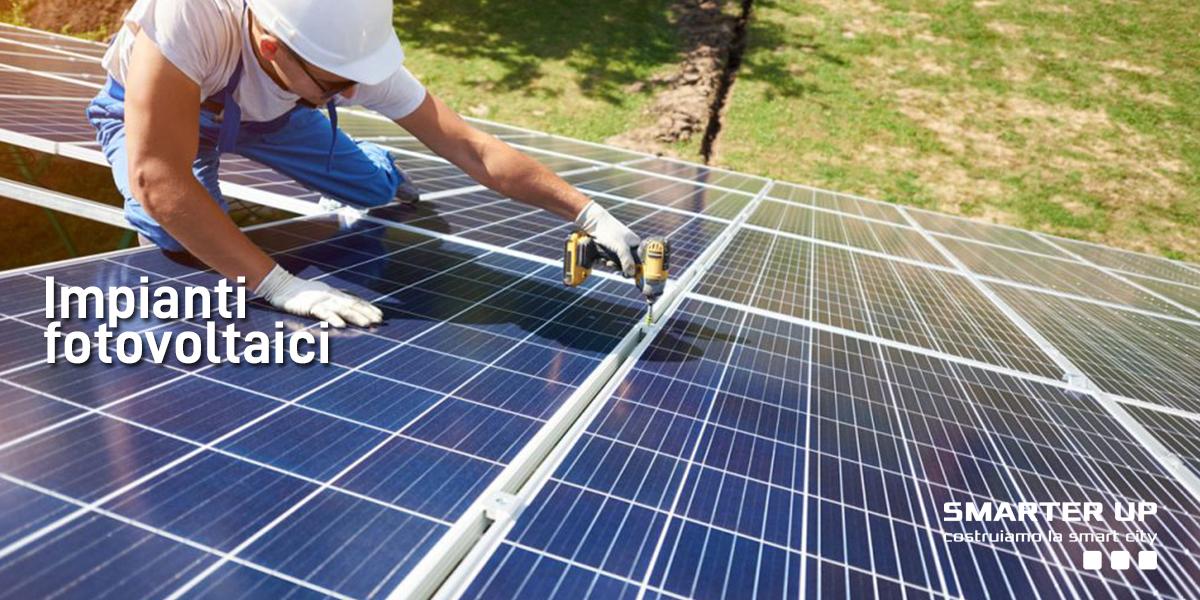 Smarter Up - Impianti fotovoltaici