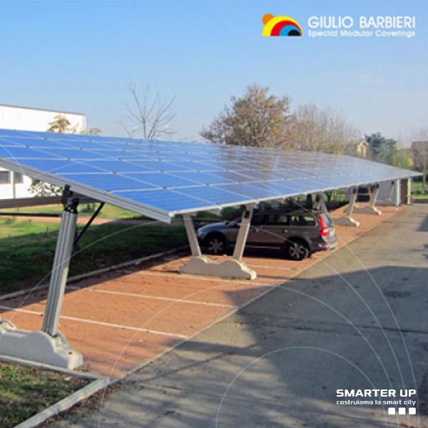 Pensiline fotovoltaiche Smarter Up