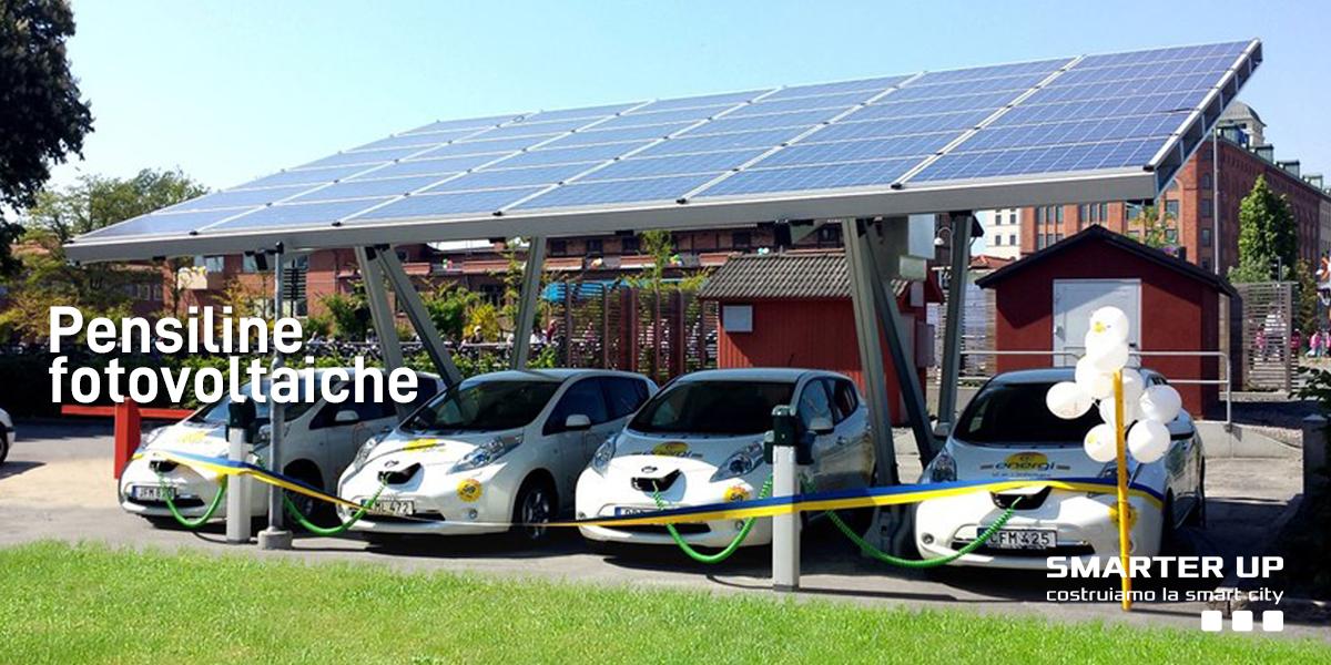 Smarter Up - Pensiline fotovoltaiche