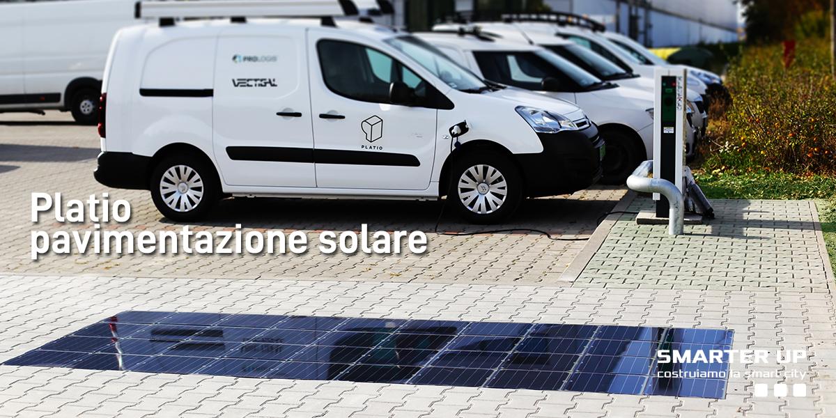 Smarter Up - Pavimento solare Platio